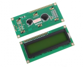 LCD1602 5V Yellow Backlight HD44780 1602 LCD LCM Display Module TN/STN Compatible with Arduino