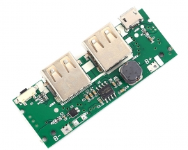 Lithium Battery Charging Board DC 3.7V to 5V 2.1A Mobile Power Charger Discharger Module