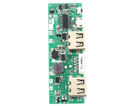 Solar Charging Circuit Board Mobile Display Power Boost Module 5V 2.1A Charger Step UP Module