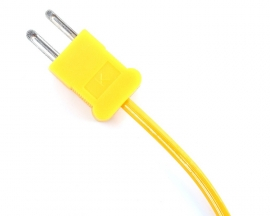 1 Meter Type-K Thermocouple Temperature Sensor -50℃~400℃ Liquid Temperature Probe