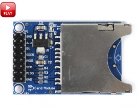 SD Card Module Slot Socket Reader For Arduino ARM MCU