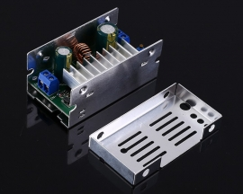 DC-DC 200W High Power Supply Module 6V-35V to 7V-55V Step UP Converter Boost Module with Case