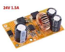 DM30 DC-DC Step Down Power Supply Module 24V 1.5A Voltage Conveter Buck Output DC 26V-75V to DC 24V