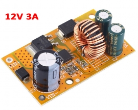 DM30 DC-DC Step Down Power Supply Module 12V 3A Voltage Conveter Buck Output DC 14V-75V to DC 12V