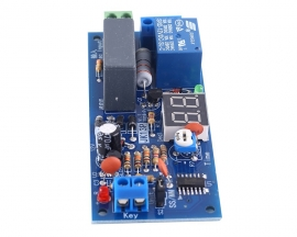 AC 220V 99s 99min Delay Relay Module 10A Switch Controller Adjustable Trigger Delay Circuit Board JK13P-AR