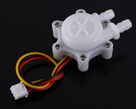 DC 5V 12V 1/4inch G1/4 Water Flow Hall Sensor Switch Flowmeter Hall Sensor Counter 5L/min