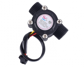 YF-S201B DN15 DC 5V 12V 1/2inch G1/2 Water Flow Hall Sensor Switch Flowmeter Hall Sensor Counter 1.2MPa 30L/min