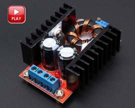150W DC-DC Boost Converter 10-32V to 12-35V 6A Step-Up Boost Converter Module