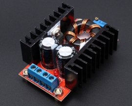 150W DC-DC Boost Converter 10-32V to 12-35V 6A Step-Up