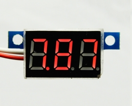 RED LED Panel Meter Digital Voltmeter DC 0-99.9V