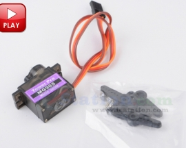 MG90S Metal Geared Micro Servo For Helicopter Boat Car