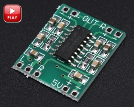 2.5-5V 2X3W Mini Audio Class D Amplifier Board Module