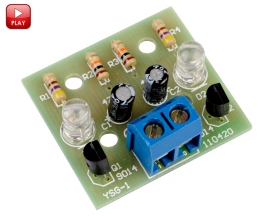 Simple Flash Circuit Electronic Production Electronic Suite DIY