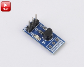 DS18B20 Temperature Measurement Sensor Module for Arduino