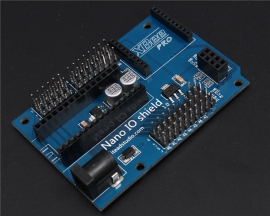 Nano IO Shield with XBEE Socket for Arduino