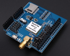 GPS Shield with SD Card Socket 5V UART for Arduino