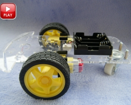Smart/Tracking/Robot Car Chassis with Code Disk
