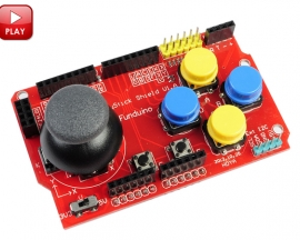 Gamepad Joystick Shield for Arduino Simulated Keyboard And Mous