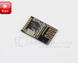 2.4G NRF24L01+ SMD 1.27MM Wireless Module Small Size