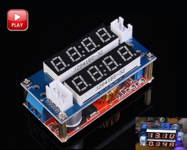 DC to DC Step Down Buck Converter 5V-30V to 0.8V-29V 5A Constant Current Constant Voltage Meter Power Supply Charger Module