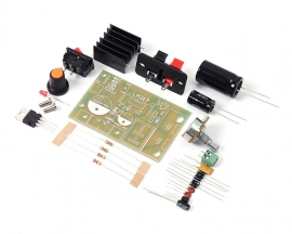 LM317 Adjustable Step Down Module DC 5V-35V to 1.25V-30V DIY Kit AC/DC Power Supply Module