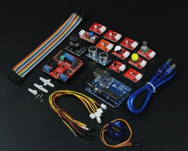 Arduino Starter Kit for Ardublock Graphical Programming