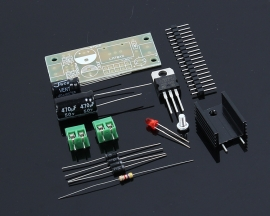 L7809 Step Down 12V-35V to 9V DIY Kit Power Supply Module