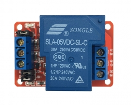 12V 30A 1-Channel Relay Module with Optocoupler H/L Level Triger