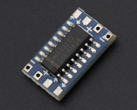 MCU Mini RS232 MAX3232 to TTL Level Pinboard Converter Board Module