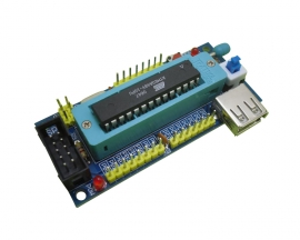 DIY Kit AVR Development Board (NO Chip) for ATmega8 ATmega48