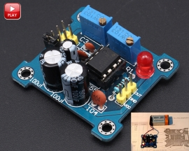 ICStation DIY Kits NE555 Duty Cycle and Frequency Adjustable Module