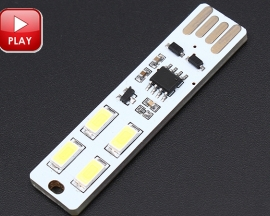 ICStation USB Touch  Control Dimmer Lamp LED Light