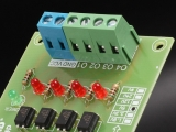 4Bit Optocoupler Isolator 3.3V to 12V Level Voltage Converter Board PLC Signal