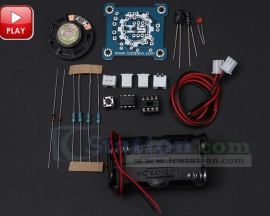 ICStation Doorbell Suite Electronic Production DIY Kit