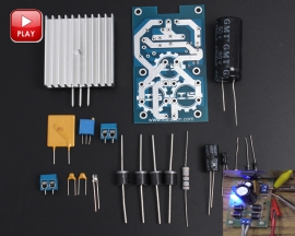 ICStation DIY Kit LT1083 Adjustable Regulated Power Supply Module Parts and Components DIY Kits