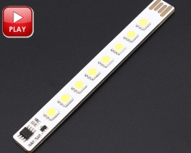 ICStation Warm White USB Touch Control Light-Dimmer USB Light