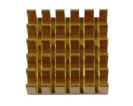 [L463]Heat Sink 22x22x5mm Aluminum 22*22*5MM for Router CPU IC