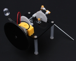 Hand Generator DIY Kit DC Dynamo Hobby Robot Puzzle IQ Gadget