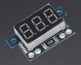 "ICStation Direct Current Tester Ammeter 0.36 "" Digital LED Tube"