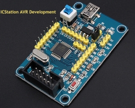 ICStation  ATMEGA48PA Development Board AVR Development