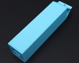 Blue USB Power Bank Case Kit 18650 Battery Charger Milk DIY Box