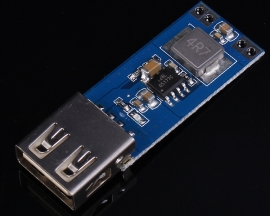 DC-DC 3V/3.3V/3.7V/4.2V to 5V USB 2A Step Up Boost Power Module Charger