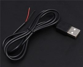 USB Power Line Power Cable 80CM USB Cable For DIY Kit
