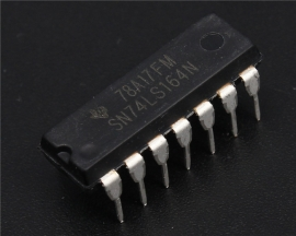 SN74LS164N DIP-14 8-Bit Parallel-Out Serial-in Shift Register