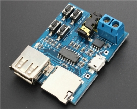Mp3 Lossless Decoder Decoding Power Amplifier Mp3 Player Audio Module Mp3 Decoder Board Support TF Card USB