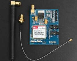 SIM900 Quad-band GSM/GPRS Minimum System Module with Antenna