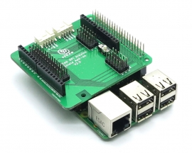 Raspberry Pi to Arduino Expansion Board V2.0 Adapter Shield Breakout Board Add-on Module with Various Interface