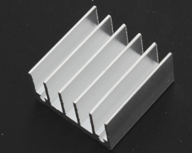 Heat sink 30*30*15MM IC Heat sink Aluminum 30X30X15MM Cooling Fin