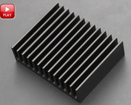 Heat sink 32*40*11MM IC Heat sink Aluminum 32X40X11MM Cooling Fin