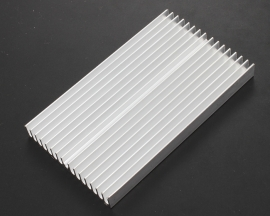 Heat sink 100*60*10MM IC Heat sink Aluminum 100X60X10MM Cooling Fin
